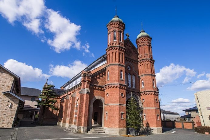 今村教会、今村天主堂(福岡県三井郡大刀洗町)