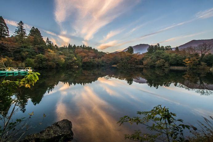 白雲の池(長崎県雲仙)