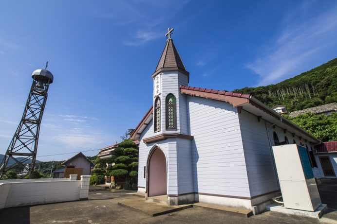 冷水教会(長崎県上五島町)