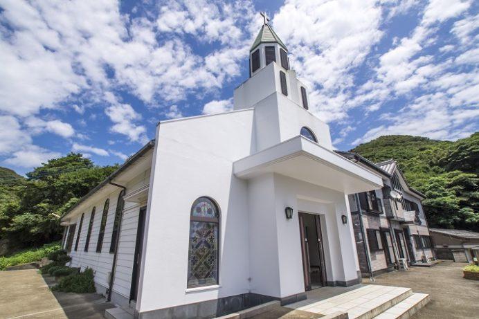 土井ノ浦教会(上五島町若松郷849-3)