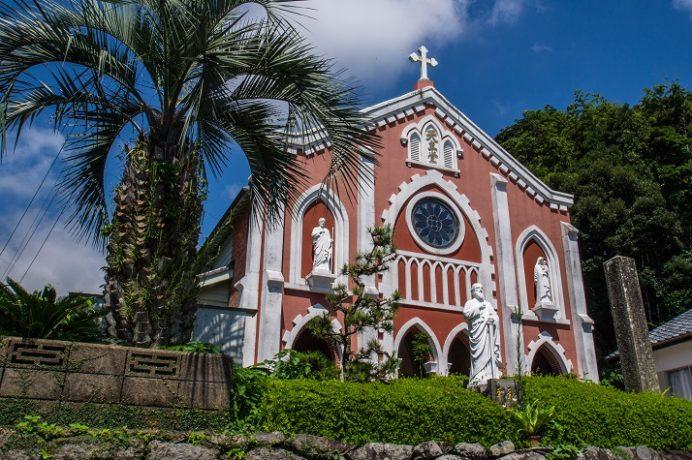 宝亀教会(長崎県平戸市)