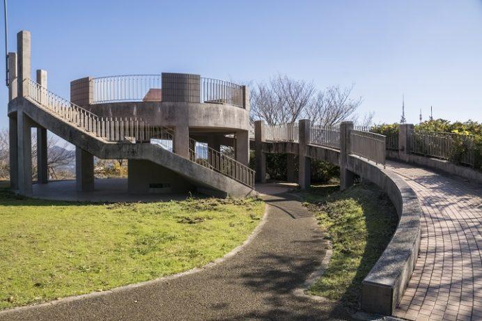 稲佐山公園(長崎市)、鉢巻山展望台