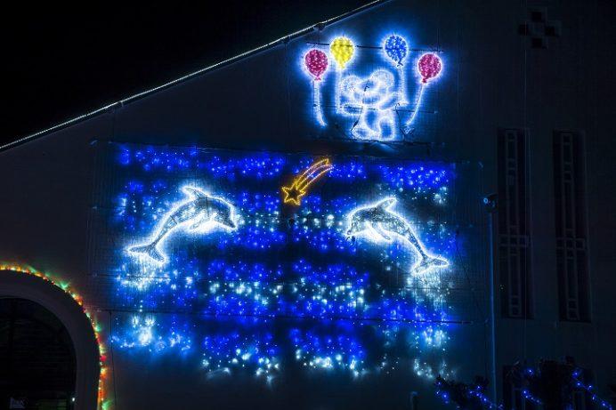 天草ロザリオ館(熊本県)のイルミネーション