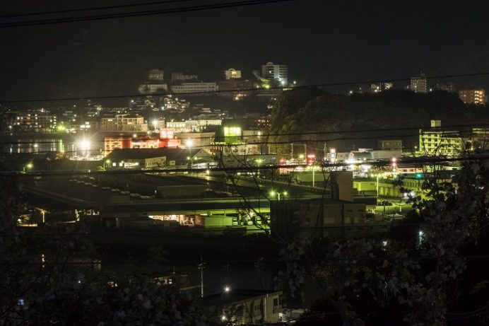 東長崎・矢上団地近隣公園のイルミネーション
