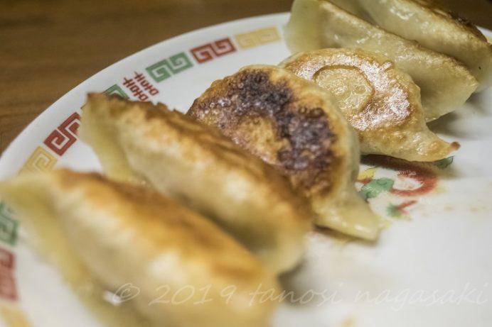 餃子菜館 万徳(長崎市銅座町)のぎょうざ