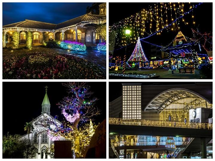 「長崎市のイルミネーション~怒涛の20SPOT」【クリスマス or 公園対応編】