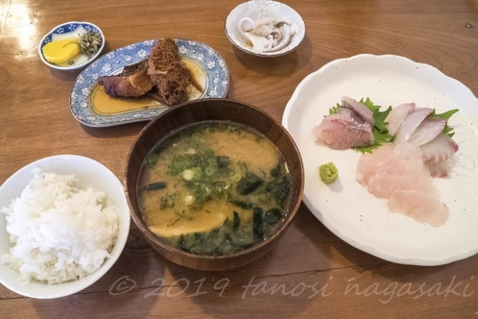 おおとり丸(長崎市野母崎)のお刺身定食