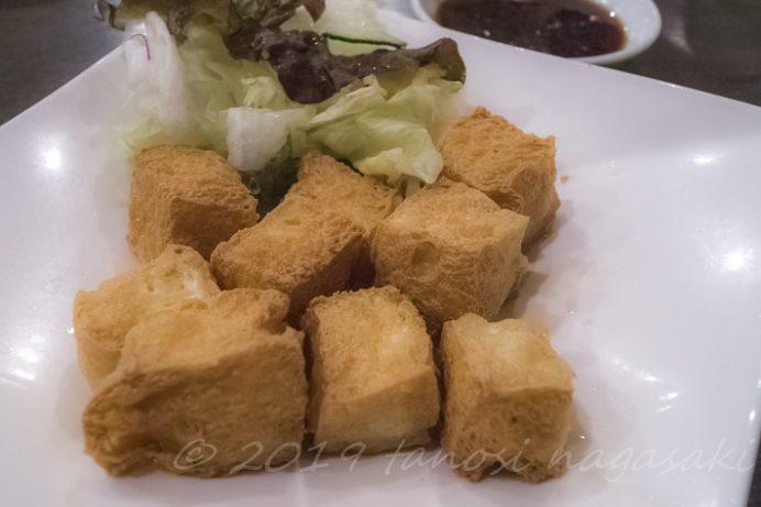 老李(ラオリー) 新地中華街本店の揚げ豆腐