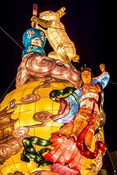 長崎ランタンフェスティバルの干支オブジェ