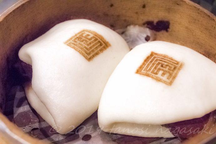 老李(ラオリー) 新地中華街本店の角煮万十(まんじゅう)