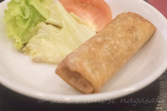 中華菜館 福壽(長崎新地中華街)のランチ、中華粥