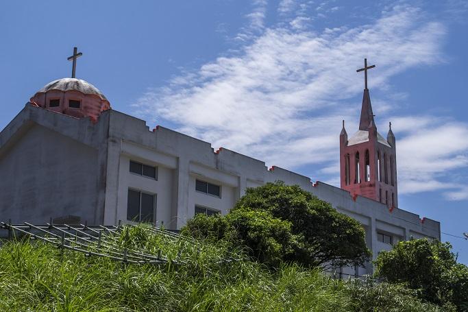 桐教会(長崎県南松浦郡新上五島町桐古里郷)