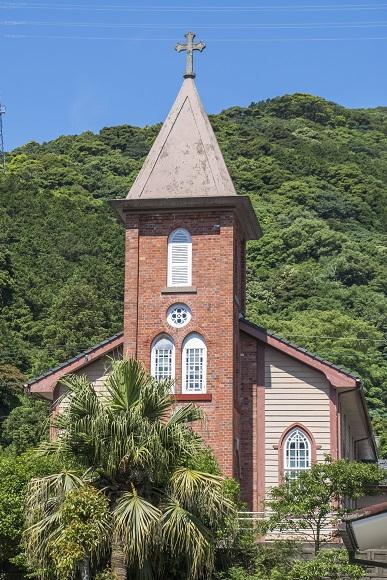 旧鯛ノ浦教会(長崎県南松浦郡新上五島町)
