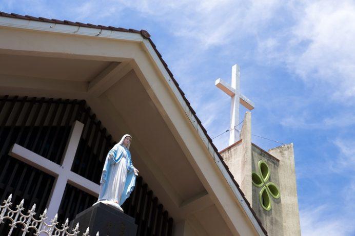 曽根教会(長崎県上五島町)