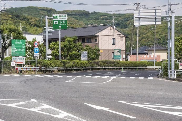 長崎自動車道 大村IC(インターチェンジ)