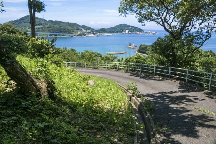 香焼総合公園(長崎市)の展望台