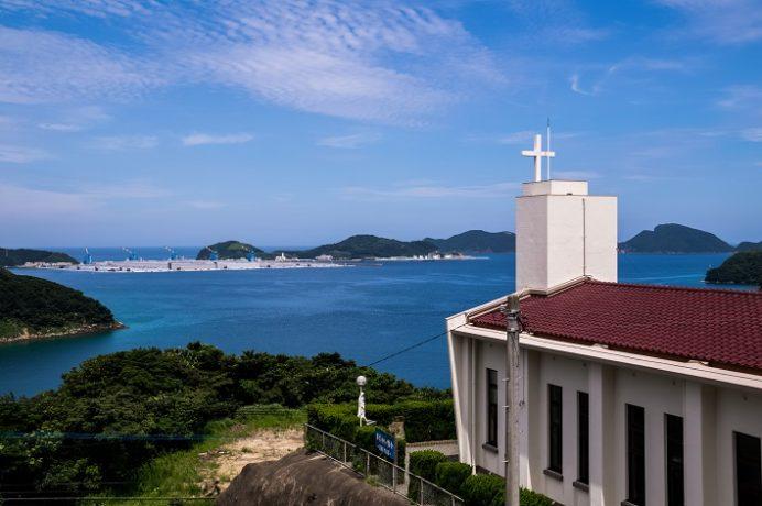 跡次教会(上五島町)
