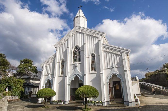 水ノ浦教会(五島市岐宿町)