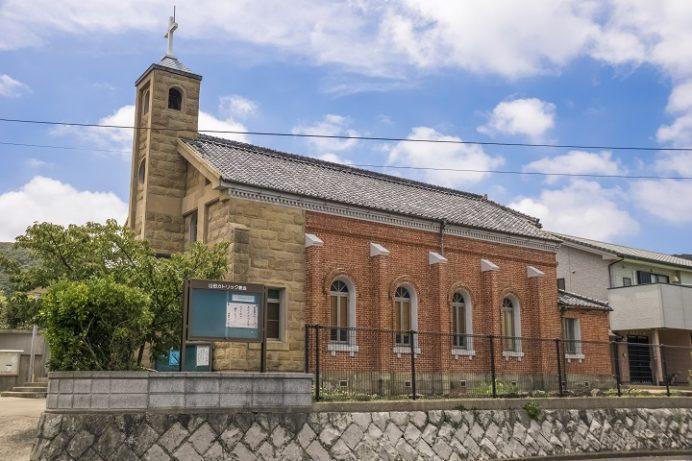 山田教会(長崎県平戸市生月町)