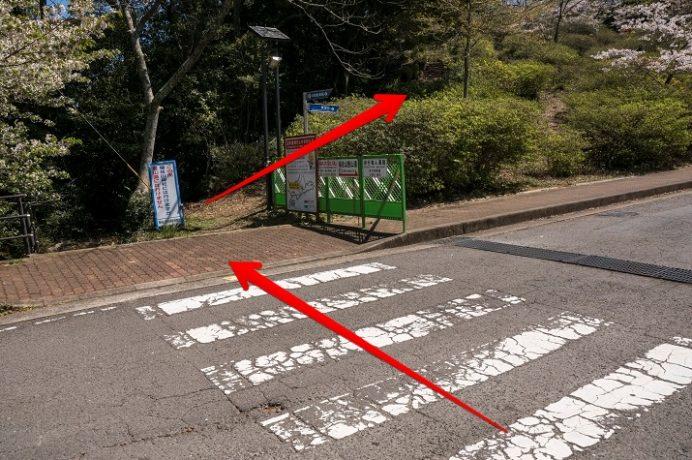 稲佐山展望台への歩き方(遊歩道)