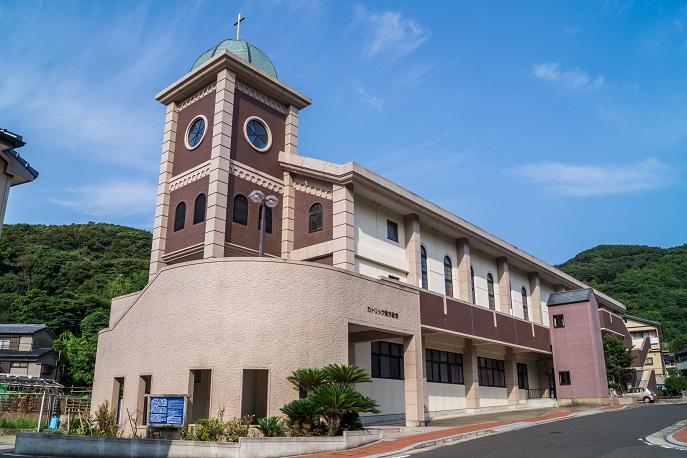 青方教会 (上五島町青方郷511-1)