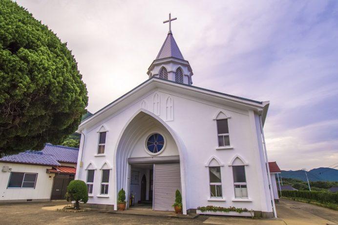 丸尾教会(長崎県上五島町)