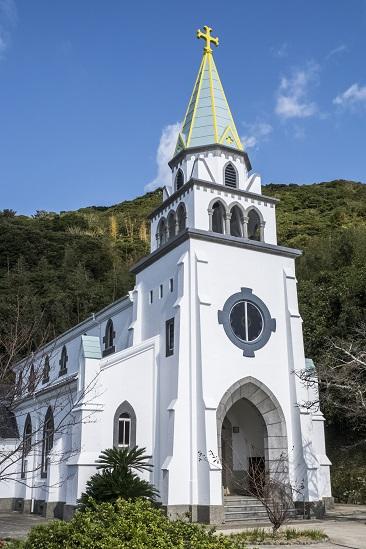 浜脇教会(長崎県五島市久賀島)