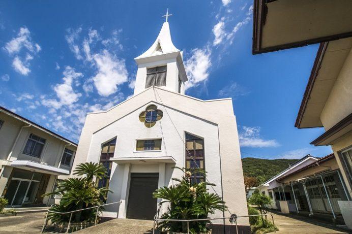 奈留教会(長崎県五島市奈留島)