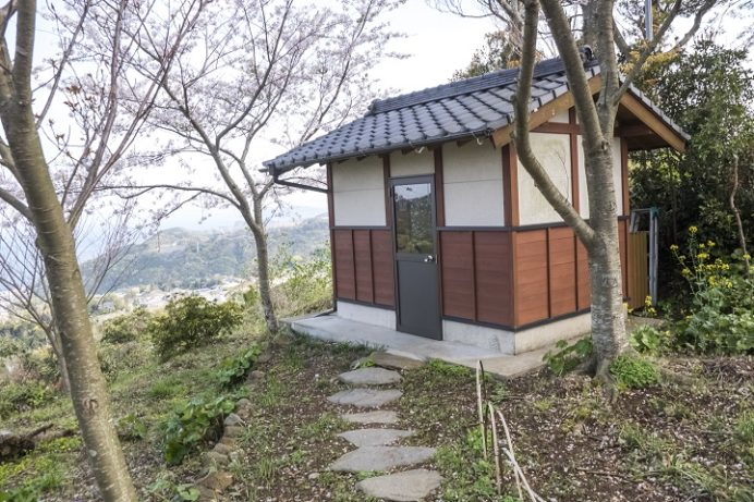 長尾城跡公園(長崎県西海市)