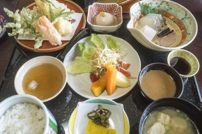 磯料理 あじ彩(諫早市森山町唐比西)のあじ菜膳、ランチ