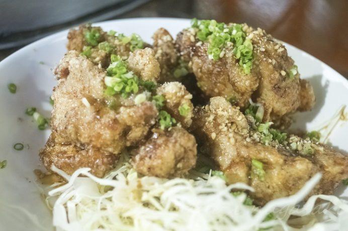 滝の観音茶屋 てっぺい(長崎市平間町)の鶏のから揚げ
