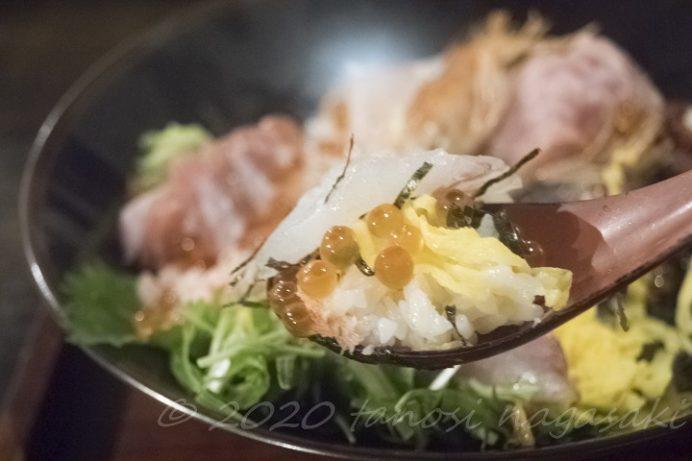 網元食堂(長崎市伊王島町)の特上海鮮丼