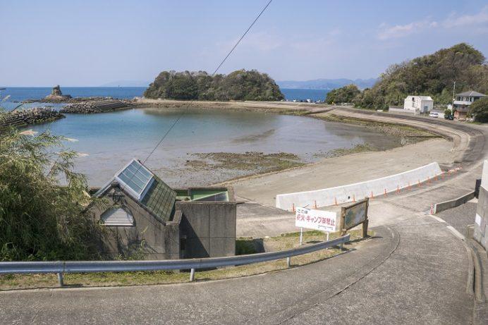 辰ノ口海水浴場(長崎市香焼町)