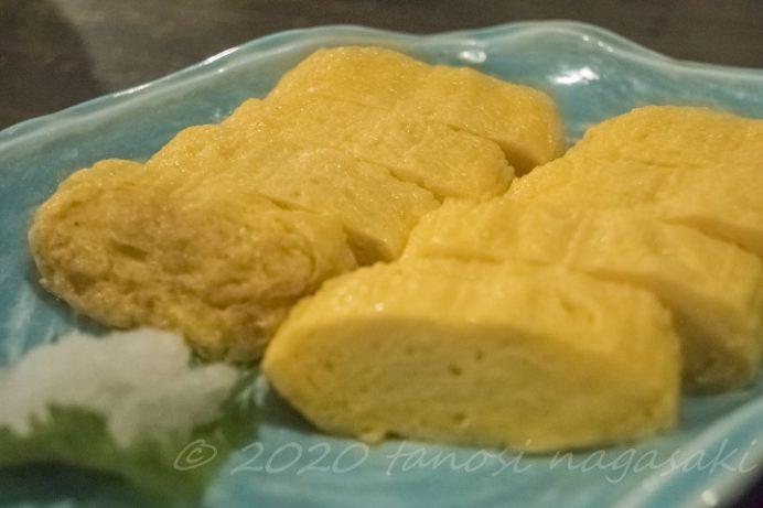 網元食堂(長崎市伊王島町)の出汁巻き卵