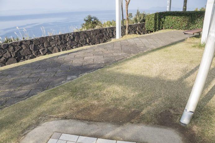 大村湾PA 恋人の聖地(長崎自動車道)のハートストーン