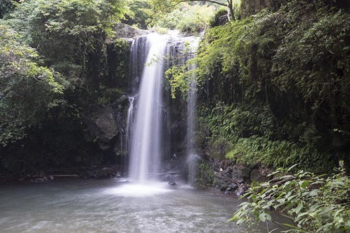鮎帰りの滝(南島原市有家町)