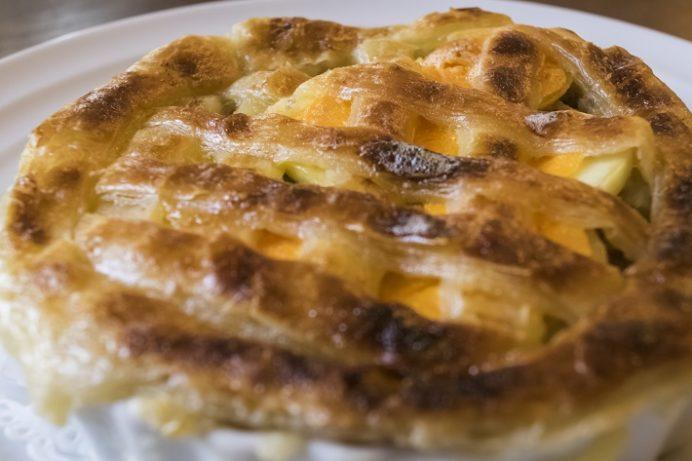 出島内外倶楽部レストラン(長崎市出島町)のパスティ 長崎産いのしし肉と豚肉のパイ