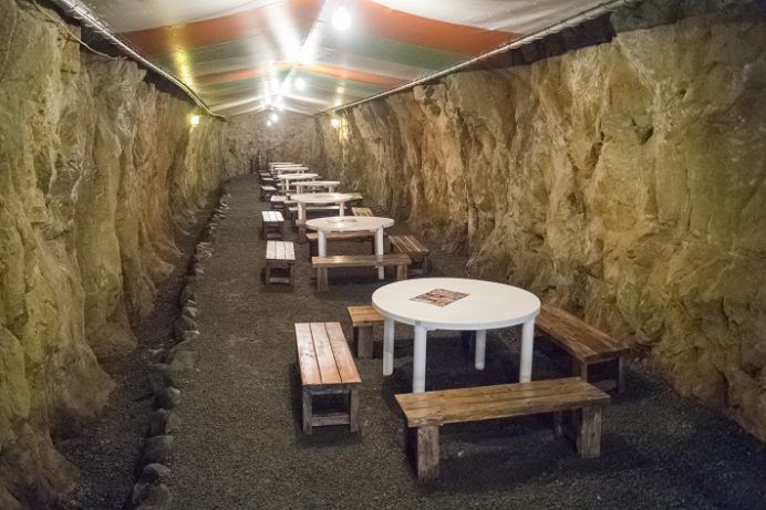 九十九島温泉 花みずきSASPA(洞窟たらいそうめん)