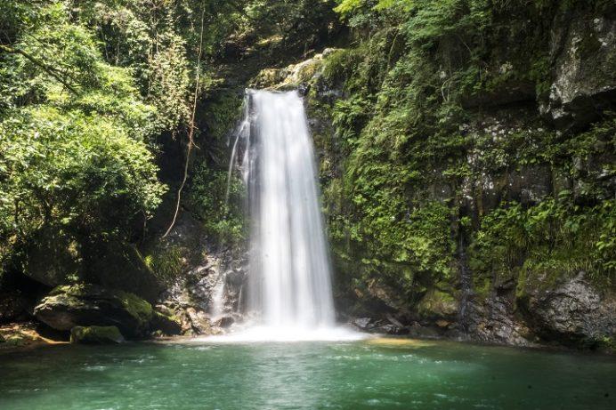 轟峡・轟渓流(長崎県諫早市高来町)の轟の滝