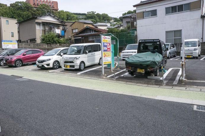 クリエート キャッシュバックパーキング(むつ五郎そばの駐車場)