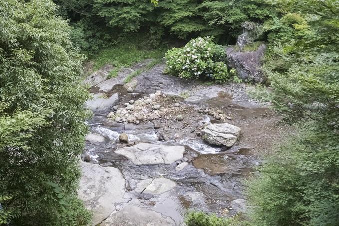 滝の茶屋(南島原市有家町)の流しそうめん