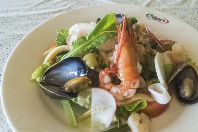 パスタクラブ フェローズ(諫早市松里町)の海鮮サラダ
