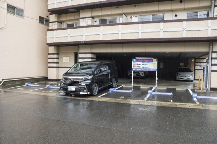 セントポールガーデン 菜のはな駐車場(浜口町の駐車場)