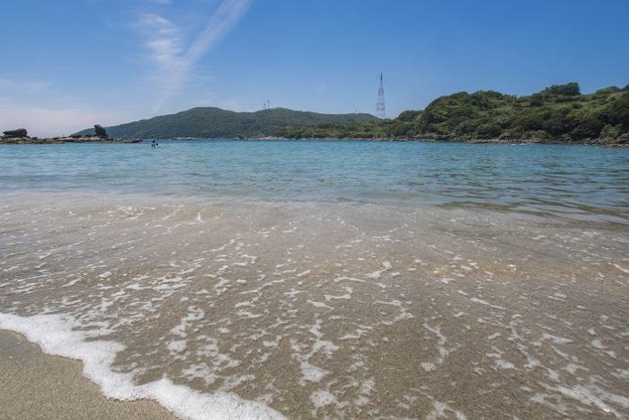 尻久砂里海浜公園(しりくさり)【無料駐車場付きの海水浴場!】|西海市