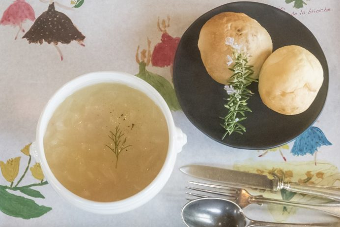 アンボワーズ(amboise)、長与町高田郷のスープとパン