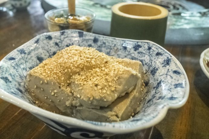 山の寺 邑居(南島原市深江町)の落花生豆腐