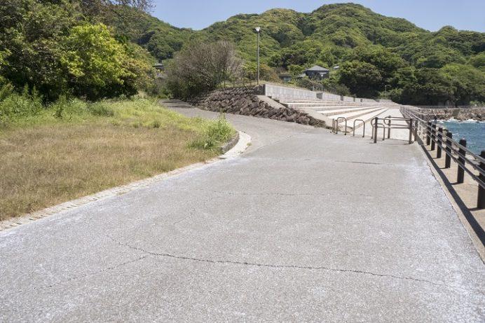 かきどまり弁天白浜海水浴場(長崎市)