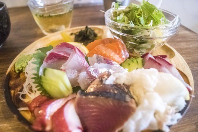 海鮮丼専門店 さかな屋(長崎市平和町)、さかや屋刺身定食