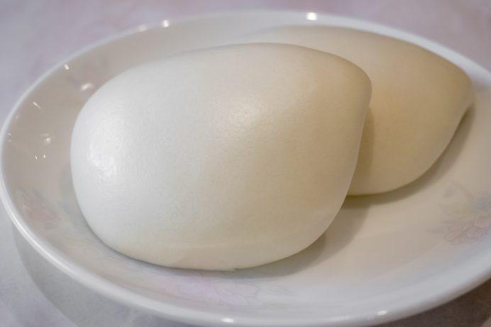 寶來軒、旧宝来軒別館(長崎市平野町)の高菜入り角煮饅頭