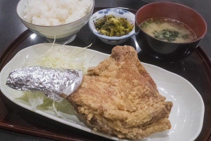 鶏の白石【唐揚げメニュー全6品完食!】~宇宙一の唐揚げ